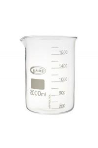 Žemos formos cheminė stiklinė (Glassco)